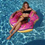 Härlig stor badring Donut hög kvalité